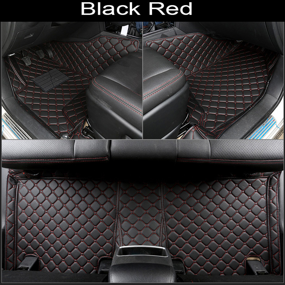 Car floor mats made for <font><b>Honda</b></font> HRV <font><b>HR</b></font>-<font><b>V</b></font> CRV CR-<font><b>V</b></font> Vezel Accord Crosstour City case all weather car-styling carpet liners image