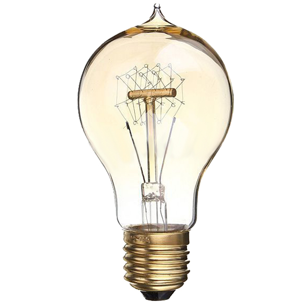 E27 40W Vintage Retro Industrial Edison Lamps Filament Lights Bulb 220V