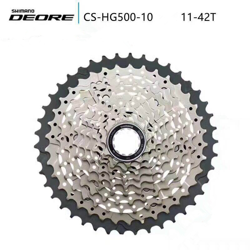 Shimano HG50 HG500 10 Speed M6000 mtb cassette Mountain Bike bicycle freewheel HG-500-10  11-36t 11-42t shimano deorext fd m780 m781 front transmission mtb bike mountain bike parts 3x10s 30s speed