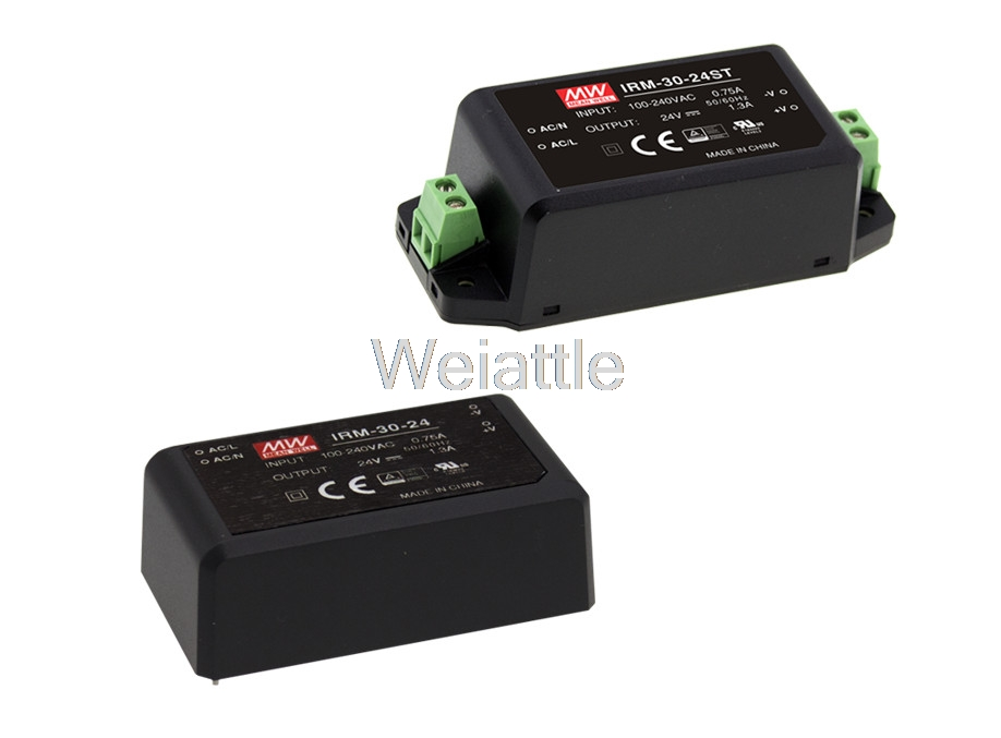 MEAN WELL original IRM-30-15ST 15V 2A meanwell IRM-30 15V 30W Screw terminal styleMEAN WELL original IRM-30-15ST 15V 2A meanwell IRM-30 15V 30W Screw terminal style