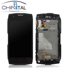 CHINPITAL hot sale For Blackview BV7000 LCD Display + Touch Screen Assembly With Frame Replacement for bv5000 lcd+free TOOLS(China)
