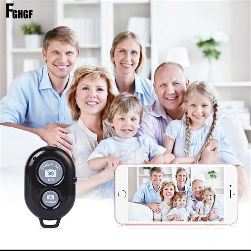 FGHGF Wireless Bluetooth Self-Timer Button Remote Control Universal selfie stick For iPhone 6 7 Shutter Release Remote Control