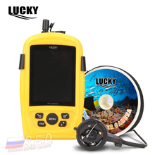 LUCKY FF3308-8 Russian Version Portable Underwater Camera Fishing Inspection System CMD sensor 3.5 inch TFT RGB Waterproof