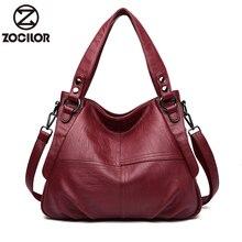 Sıcak yumuşak deri lüks çanta kadın çanta tasarımcısı el çantaları kadın omuz Crossbody askılı çanta Casual Tote Sac ana