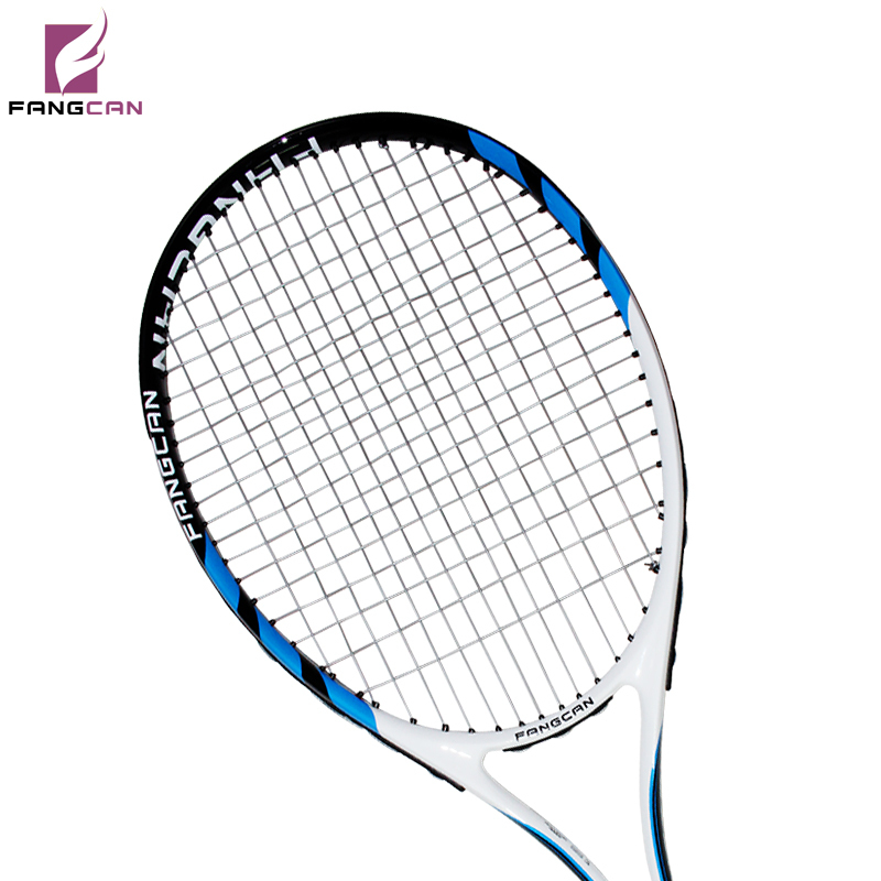 FANGCAN SUPER A8 Carbon Aluminum Composite Tennis Racket Blue Color  With String and Within Full Cover composite structures design safety and innovation