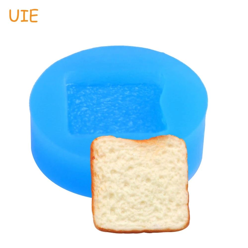 Kawaii bread set flexible silicone mold  mould