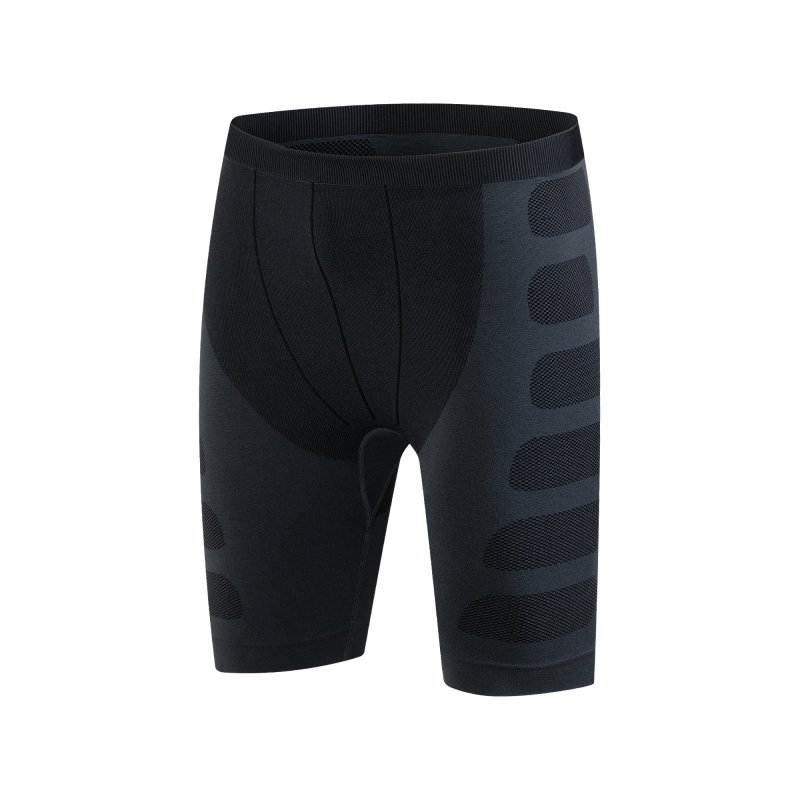Casual Men Compression Shorts Base Layer Thermal Skin Tight Short fitness shorts men ...