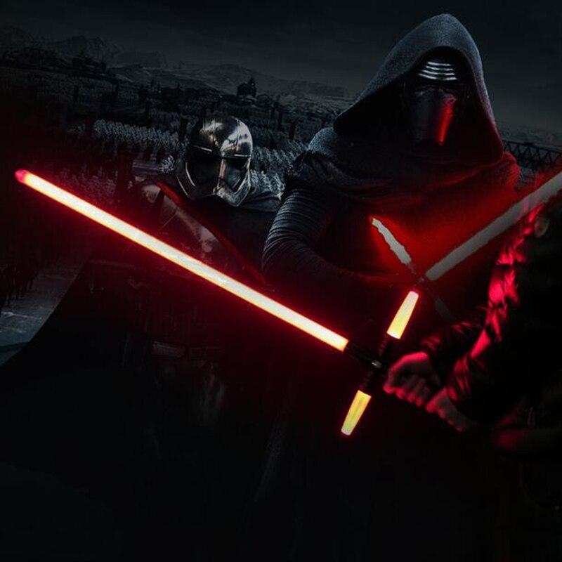 105cm Star Wars 7 The Force Awakens Kylo Ren Lightsaber LED Light sound Light saber Darth