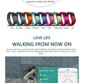 HOT! TW64 supplier Fitness Tracker Bluetooth Smartband Sport Bracelet Smart Band Wristband Pedometer For iPhone IOS Android