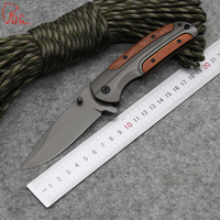 Dcbear DA43 Folding Knife 440C Steel Hunting Survival Tools With Hardness 57HRC Tactical Knife Titanium Blade