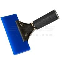 Blue Max Pro Squeegee W Handle Grip Window Film Tint Tools Rubber Water Scraper Blue Razor
