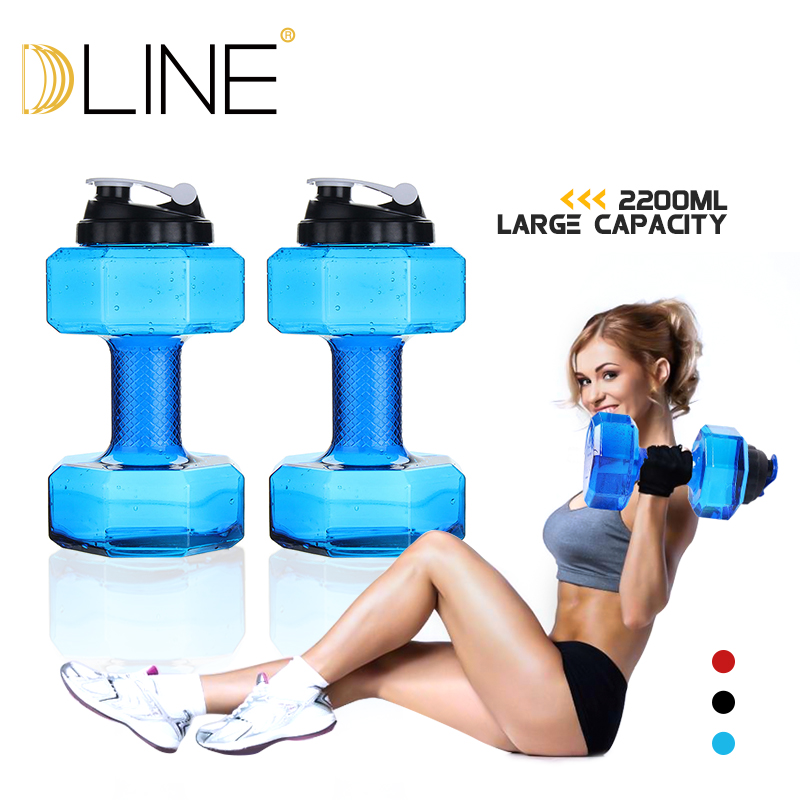 1pc 2 4kg Water Dumbbells Fitness Gym