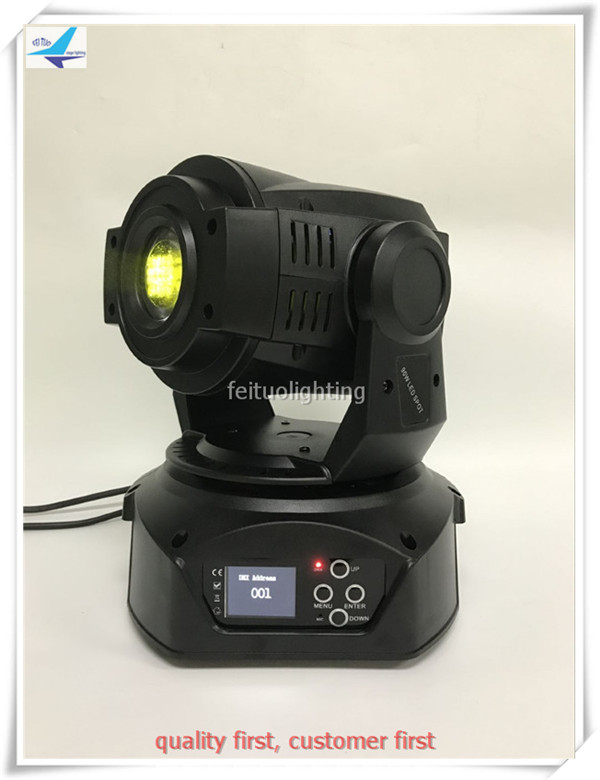 2 pieces 90w led moving head spot light disco led moving head light