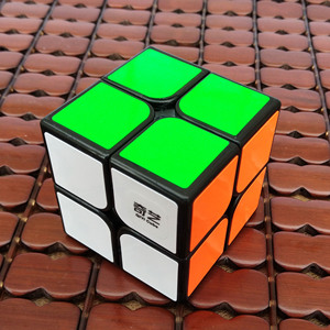 Image 4 - Qiyi 2X2 קסם קוביית 3x3 מקצועי Cubo Magico 2x2x2 מהירות קובייה כיס 3x3x3 פאזל קוביות צעצועים חינוכיים לילדים