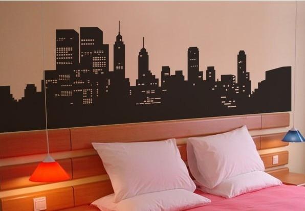 New york di notte corridoio studio camera da letto soggiorno divano ...