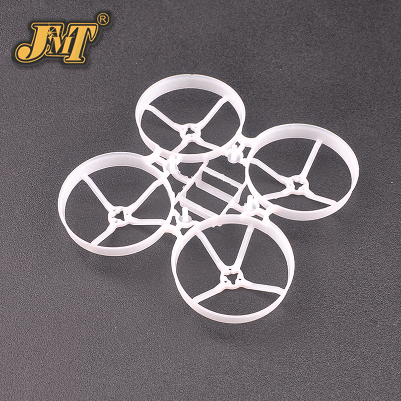 JMT 75mm Bwhoop75 Brushless Tiny Whoop Frame Kit for Indoor FPV RC Racing Drone Parts Prop Accessories betafpv sleek canopy for tiny whoop e013 65mm 75mm kingkong tiny 6 tiny 7 frame tiny whoop quads