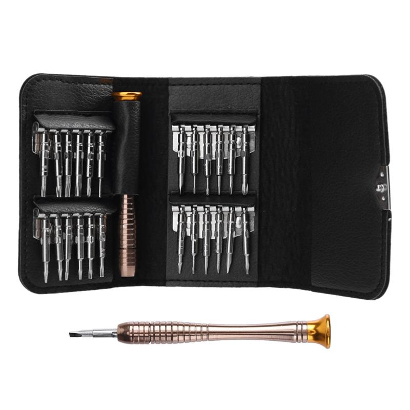25 in 1 Magnetic Screwdriver Set Torx Screwdriver Repair Tool Set for iPhone Cellphone Tablet PC Multifunction Hand Tools 5602m