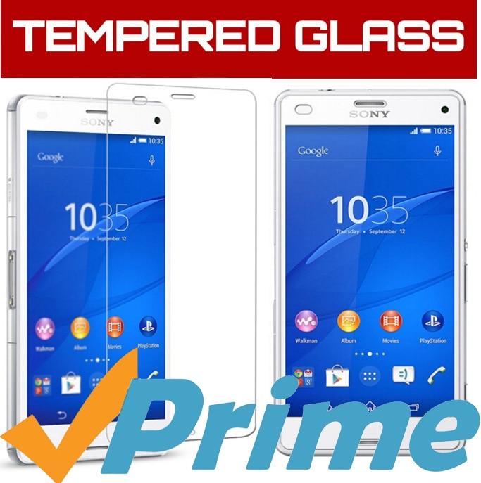Skärmskydd härdat glas sFör Sony Xperia Z3 Compact Glass Film De - Reservdelar och tillbehör för mobiltelefoner - Foto 1