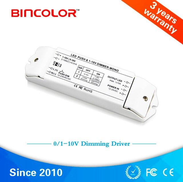 BC 331 10A 1 10 V 1 kanaals fluorescerende lampen dimmer, 0 10 v ...