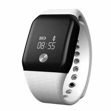 2016 г. Лидер продаж Модные A88 + Часы Bluetooth монитор сердечного ритма кислорода в крови монитор Smart Браслет хороший