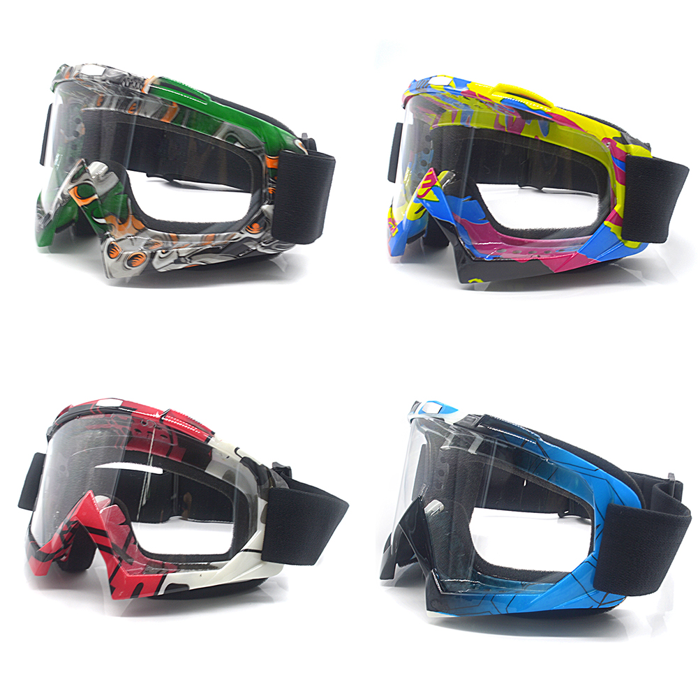 For Motocross Motorcycle Goggles ATV Off Road Dirt Bike DustProof Racing Glasses Anti Wind Eyewear MX Goggles(China)