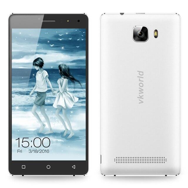 Оригинал VKworld T3 Большой Динамик MTK6735 5 дюймов IPS HD 2.5D Quad ядро Android 5.1 2 Г RAM 16 Г ROM 4 Г LTE мобильный Сотовый Телефон