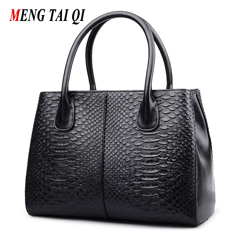 Luxury Handbags Women Bags Designer Brand Genuine Leather Handbag Women Messenger Bag Serpentine Pattern Shoulder Bags Ladies 4 100% genuine leather women bags luxury serpentine real leather women handbag new fashion messenger shoulder bag female totes 3