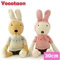 Suéter de conejo le sucre 30 cm juguetes de peluche de conejo kawaii stuffed dolls regalos de alta calidad, la ropa puede ser el despegue