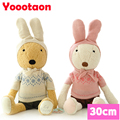 Sweater bunny Le sucre 30cm Rabbit plush toys Kawaii Stuffed dolls high-quality gifts,clothes can be take off