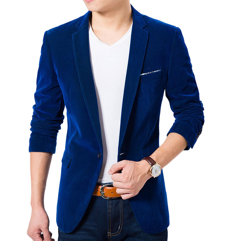 Royal blue mens blazer online shopping-the world largest royal ...