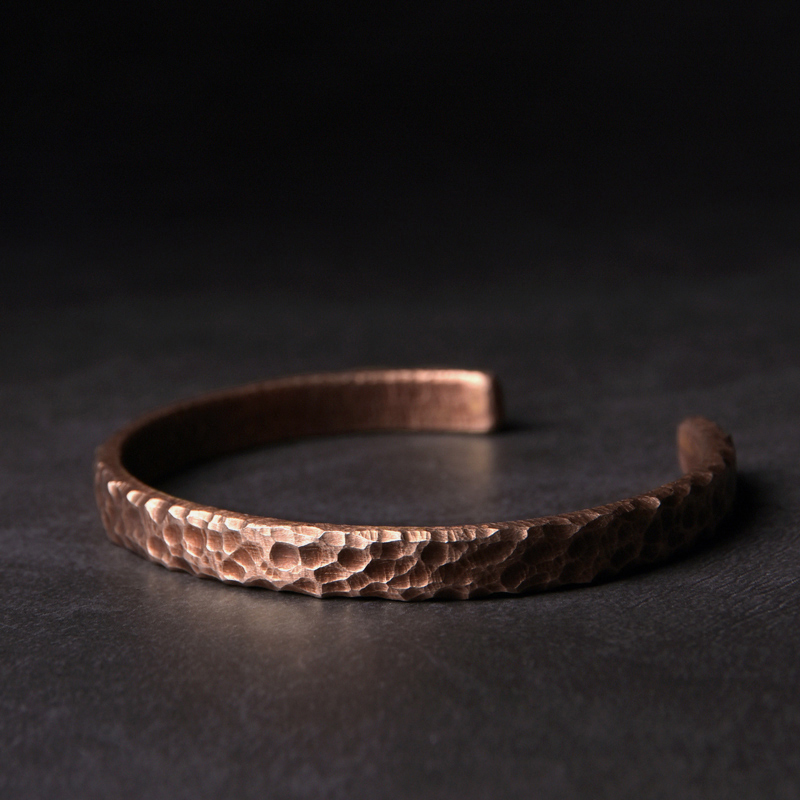 Hammered Solid Copper Metal...