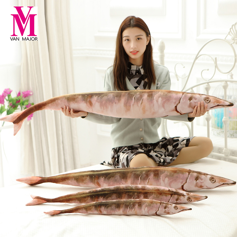 1 pc 65 cm प्यारा आलीशान मछली - भरवां जानवर
