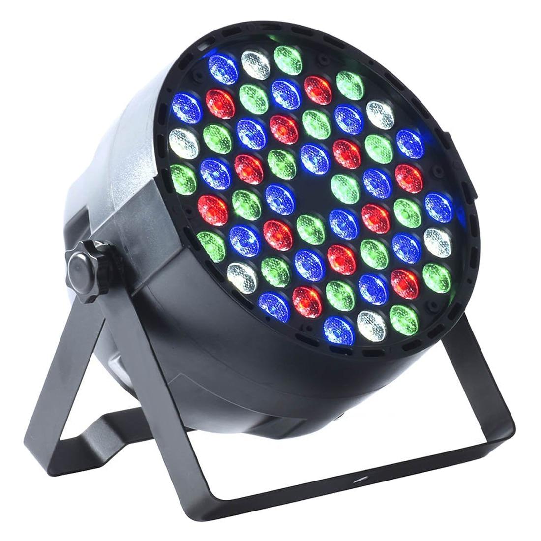 4pcs 54X3W LED DJ PAR Light RGBW 162Watt DMX 512 Stage Lighting Disco Projector4pcs 54X3W LED DJ PAR Light RGBW 162Watt DMX 512 Stage Lighting Disco Projector