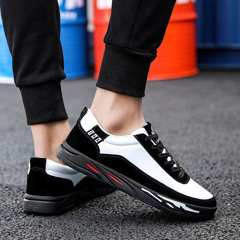 New Arrival Spring Summer Comfortable Casual Shoes Mens Canvas Shoes For Men Lace-Up Brand Fashion Flat Loafers Shoe yx014 2