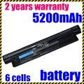Batería del ordenador portátil para dell vostro 2521 2421 jigu inspiron 17r 5721 17 3721 5521 15 3521 14R 15R 5421 14 MR90Y VR7HM W6XNM X29KD