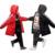 11.11 do Miúdo Jaqueta de Roupas infantis Para Baixo Casaco de Inverno Longo Espessamento Outerwear Hodded Receber Quente Outerwear Parka Snowsuit