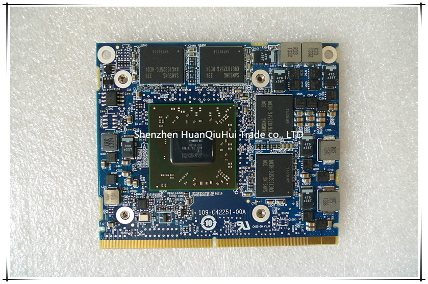 Quadro K1100M K1100 GDDR5 2GB Video Graphics Card N15P-Q1-A2 For Dell M4600 M4700 M4800 HP 8570W 8770W ZBook15 G1/2 100% Test OK