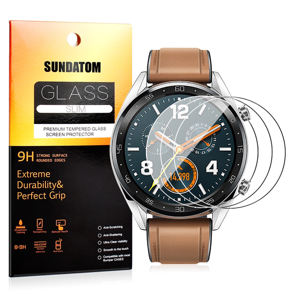 5536f451a Tempered Glass Screen Protector For Huawei Watch GT 1.39