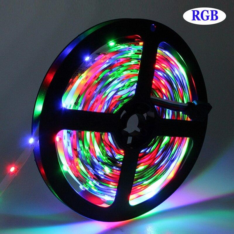 Wifi RGB LED Strip Light 5m 10m 15m SMD 3528 Vattentät Led Strip + - LED-belysning - Foto 6