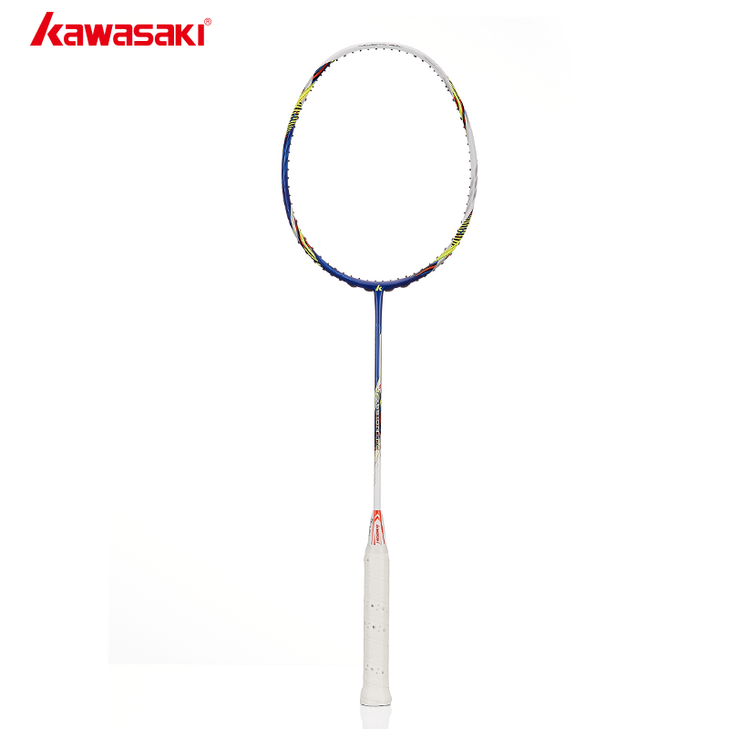 2018 Kawasaki Passion P5 Badminton Racket Offensive Type Airfoil Frame Structure Carbon Racquet For Amateur Intermediate Player
