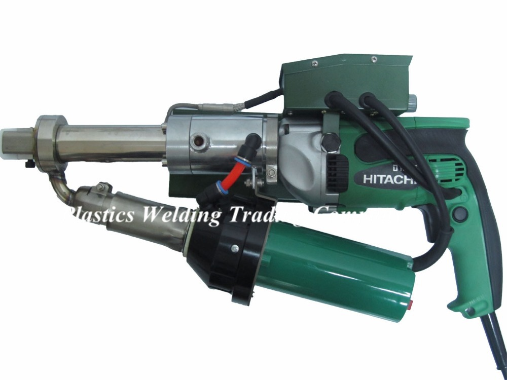 New design powerful with Japan HITACH drive motor 800W hand plastic extrusion welding tool / plastic welder YST600C