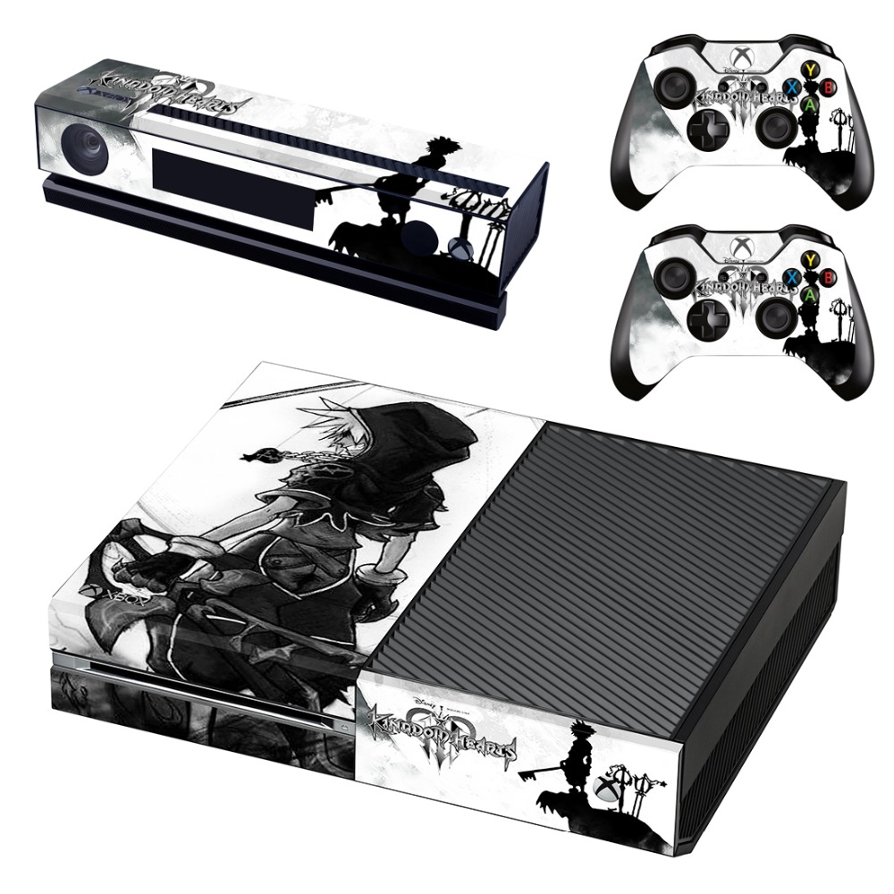Video Games & Consoles Kingdom Hearts Vinyl Decals Skins Stickers Set Xbox One X Consoles Controllers