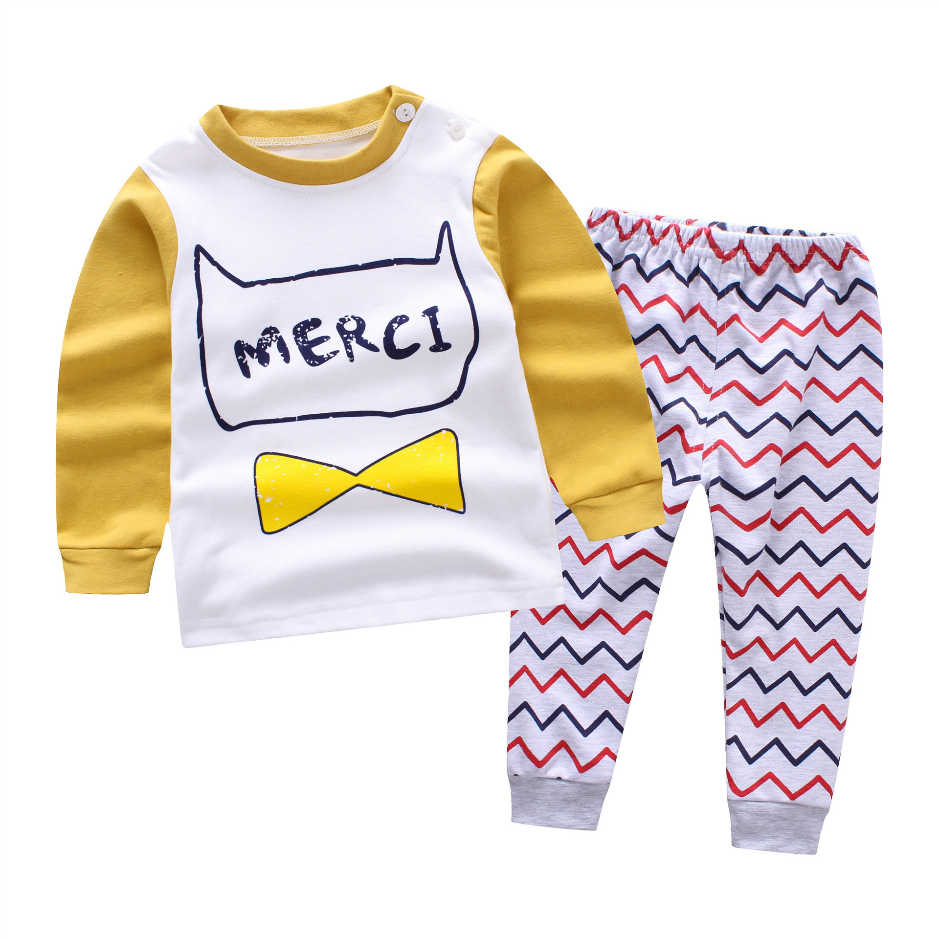 2018 spring new Pullover font b Baby b font Boys Clothes cotton font b Baby s