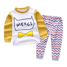 2018 spring new Pullover Baby Boys Clothes cotton Baby's Sets TH2750-2784