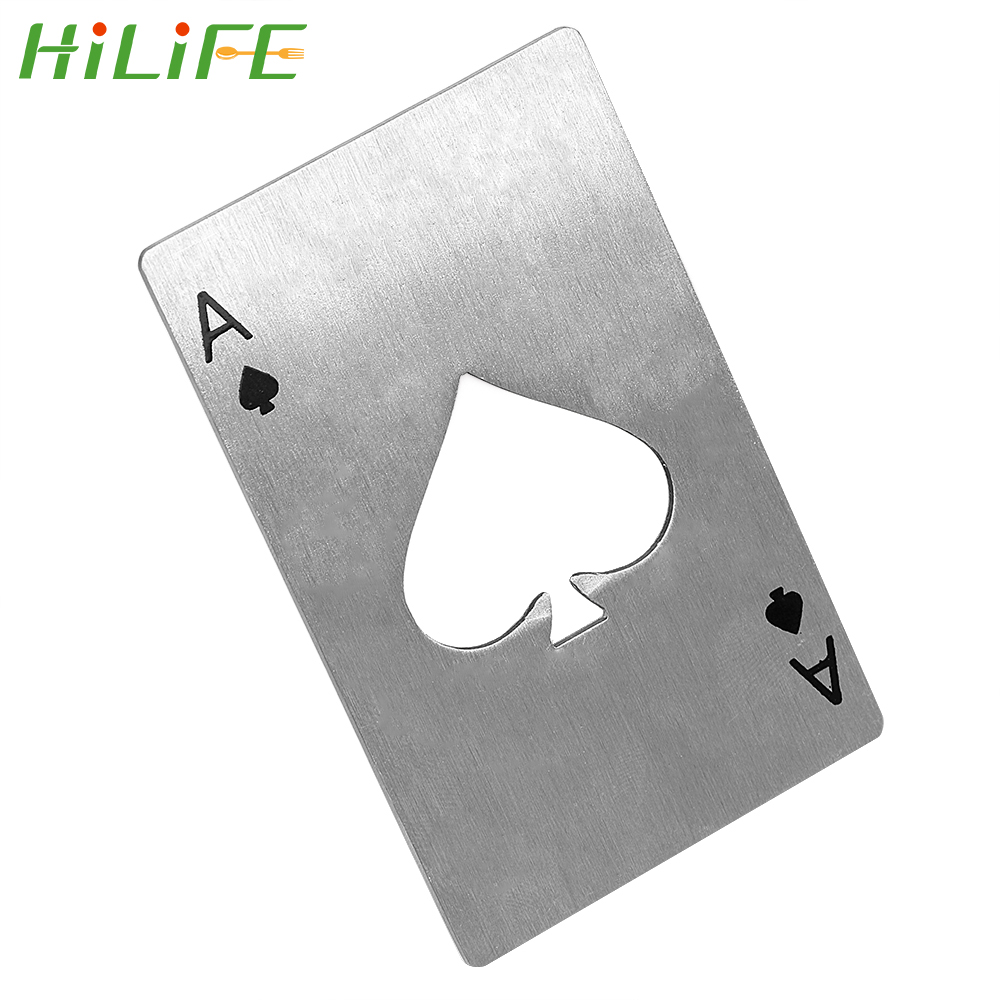 Collectables Factory Stainless Steel Beer Soda Bottle Cap Opener Credit Card Size Bar Tool Cn Breweriana