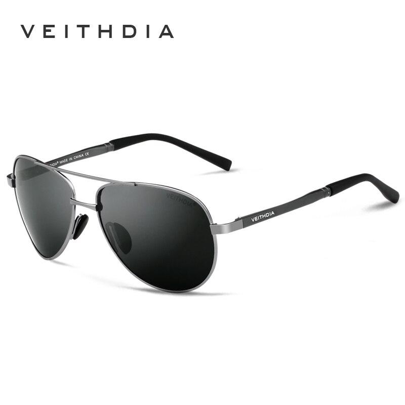 76800adbdb05ee VEITHDIA Marque Hommes de lunettes de Soleil Polarisées UV400 Soleil  Lunettes oculos de sol masculino Mâle