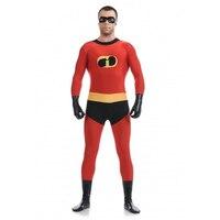 מפעל ישיר זול מר מדהים תלבושות אדום נושא גיבור מערער בגד גוף תלבושות ליל כל הקדושים קוספליי מפלגה לנשף TAC27