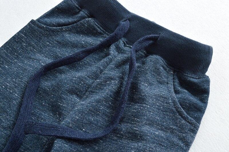 SAILEROAD Soild Boy Long Pants for Kids Sweaterpants Autumn Children Sport Trousers Cotton Girls Pockets for Child Clothes 3