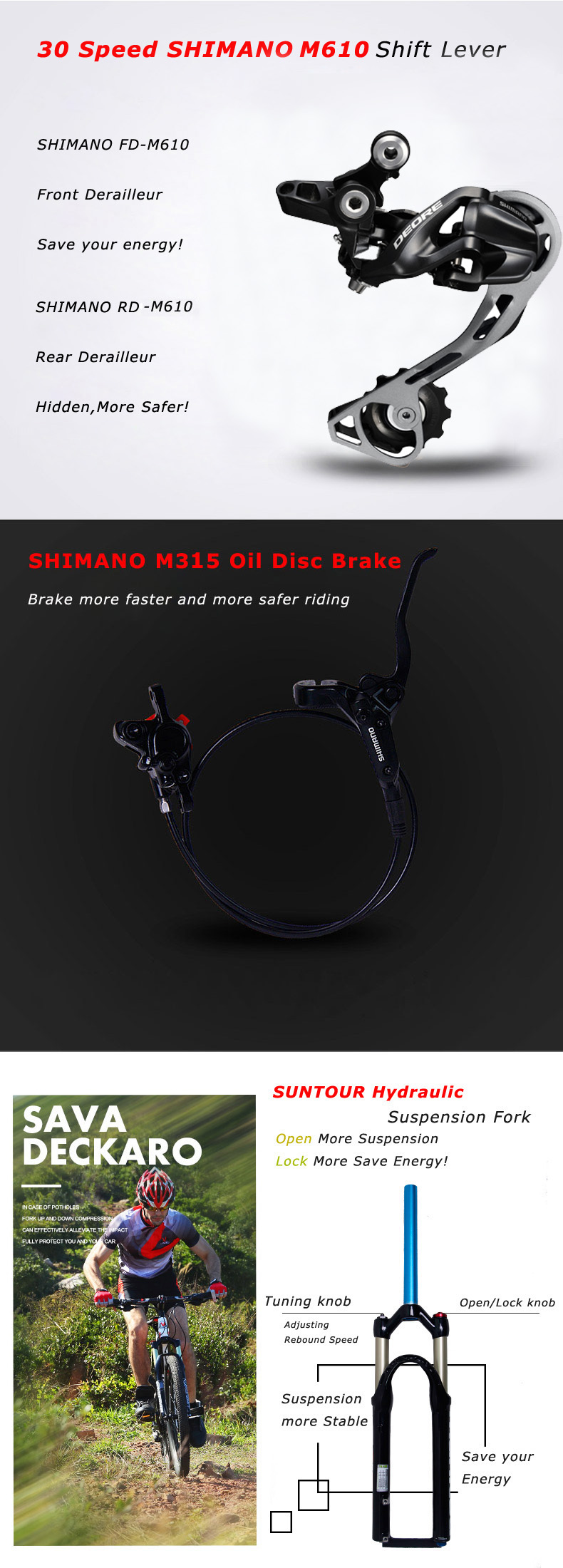 SHIMANO M610