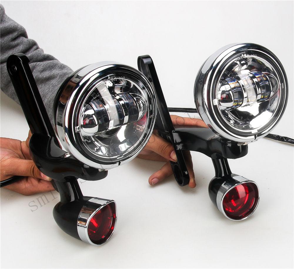Nosilec za luči za meglo za motorna kolesa Nosilec za luči za - Avtomobilske luči - Fotografija 1